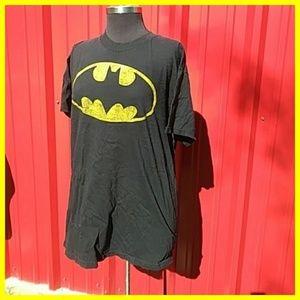Batman black shirt size L
